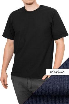 Herren T-Shirt Comfort Fit Athleisure marine