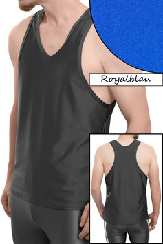 Herren Boxerhemd Comfort Fit royalblau