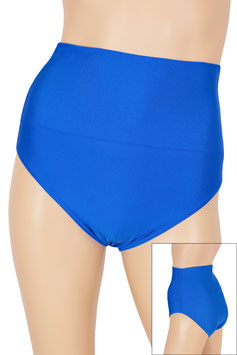 Damen High-Waist Slip royalblau