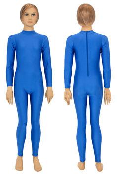 Kinder Ganzanzug Rücken-RV royalblau