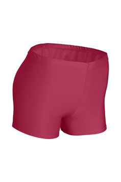 Damen Hotpant bordeaux