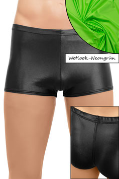 Herren Wetlook Shorty neongrün