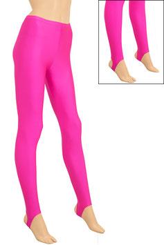 Damen Leggings mit Steg pink