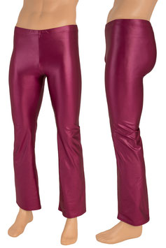 Herren Wetlook Jazzpant bordeaux