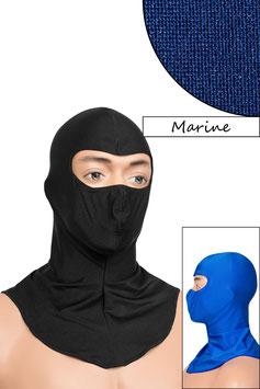 Sturmhaube Augen offen marine