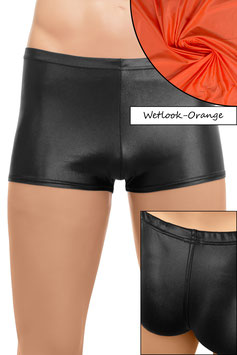 Herren Wetlook Shorty orange