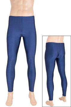 Herren Leggings dunkelblau
