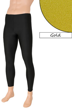 Herren Leggings gold