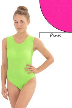 Damen Body ohne Ärmel pink