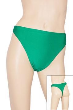 Damen String-Slip grün