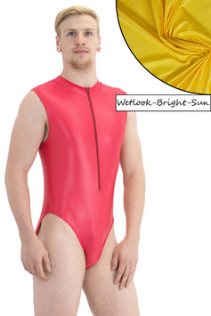 Herren Wetlook Body ohne Ärmel Front-RV bright-sun