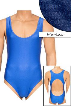 Herren Body Boxerschnitt und freier Rücken marine