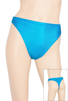Damen Wetlook String-Slip türkis
