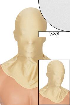 Kopfhaube geschlossen weiß