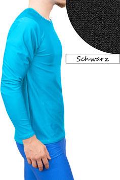 Herren Longsleeve T-Shirt Comfort Fit schwarz