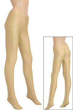 Damen Leggings mit Fuß haut