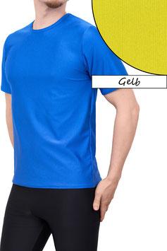 Herren T-Shirt Comfort Fit gelb