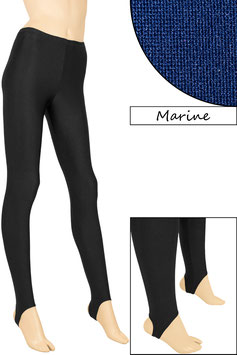 Kinder Leggings mit Steg marine