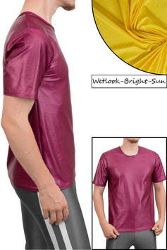 Herren Wetlook T-Shirt Comfort Fit bright-sun