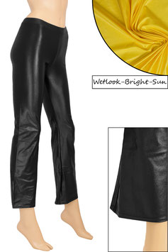 Damen Wetlook Jazzpant bright-sun
