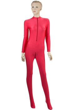 Damen Ganzanzug FRV+SRV+Fuß rot