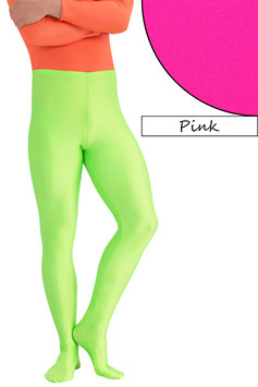 Herren Leggings mit Fuss pink