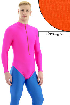 Herren Body lange Ärmel FRV orange