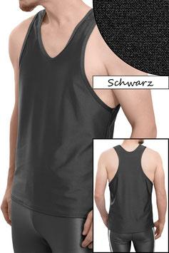 Herren Boxerhemd Comfort Fit schwarz