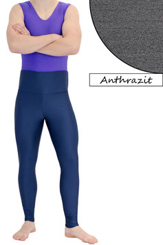 Herren Leggings High-Waist anthrazit