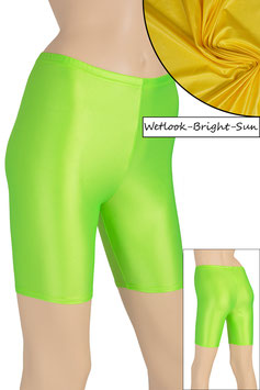 Damen Wetlook Radlerhose bright-sun