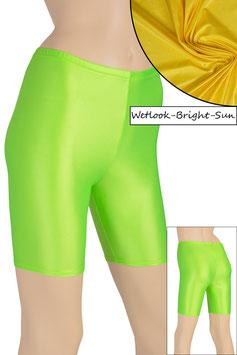 Damen Wetlook Radlerhose bright-sun