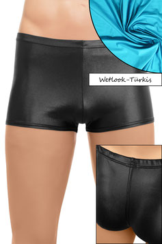 Herren Wetlook Shorty türkis