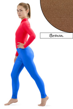 Damen Leggings braun