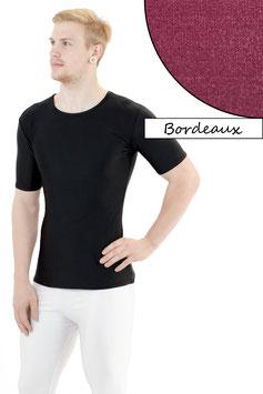 Herren T- Shirt bordeaux