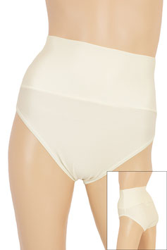Damen High-Waist Slip creme