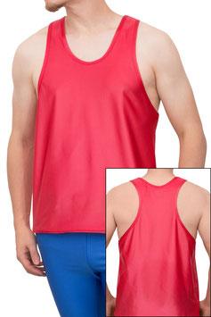 Herren Wetlook Boxerhemd Comfort Fit rot