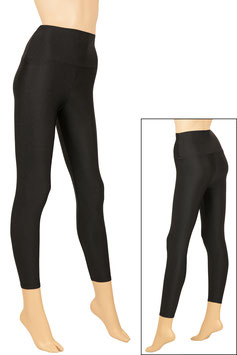 Damen Leggings High-Waist schwarz