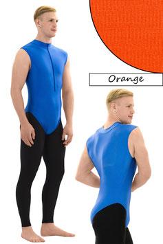 Herren Body ohne Ärmel FRV orange