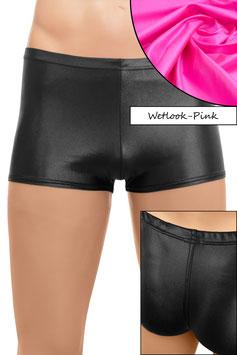 Herren Wetlook Shorty pink