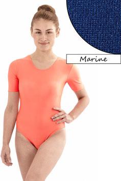Damen Body kurze Ärmel dunkelblau