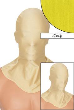 Kopfhaube geschlossen gelb