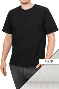 Herren T-Shirt Comfort Fit Athleisure weiß