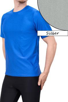 Herren T-Shirt Comfort Fit silber