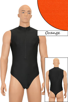 Herren Stringbody ohne Ärmel FRV orange