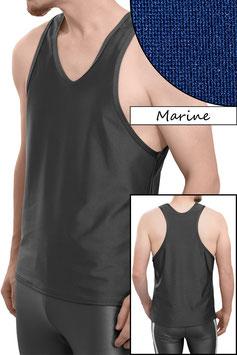 Herren Boxerhemd Comfort Fit marine