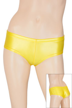Damen Wetlook Panty bright-sun