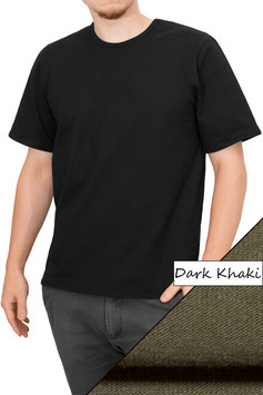 Herren T-Shirt Comfort Fit Athleisure dark khaki