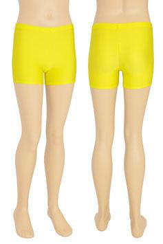 Kinder Kurzradler/ Hotpant gelb