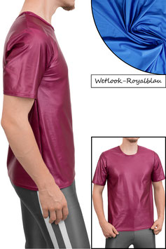 Herren Wetlook T-Shirt Comfort Fit royalblau