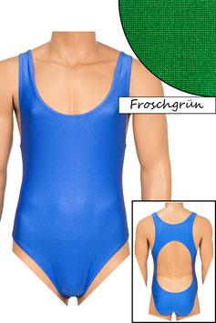 Herren Body Boxerschnitt und freier Rücken froschgrün